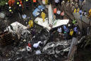 Private plane crashes in crowded Mumbai area; 5 people dead