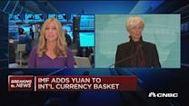IMF adds yuan to international currency basket