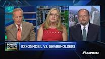Exxon Mobil vs. shareholders