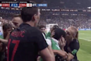 Croatia tramples World Cup photographers, then apologizes with kisses