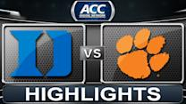 Duke vs Clemson | 2014 ACC Basketball Highlights