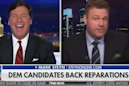 Tucker Carlson: Fox News host laughs along with guest after he suggests black people 'need to move on' from slavery
