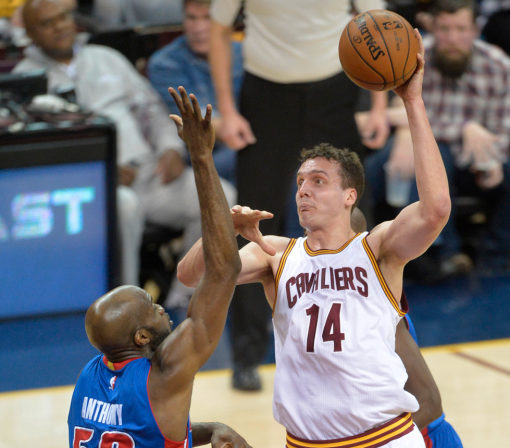 Cavaliers center is retiring after one season in the NBA, and he is going out a champion