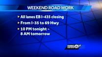 Roadwork to affect I-435 in Johnson County