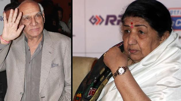 Yash Chopra Memorial Award To Lata Mangeshkar