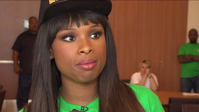 Singer Jennifer Hudson honors late nephews with school supplies event in Chicago