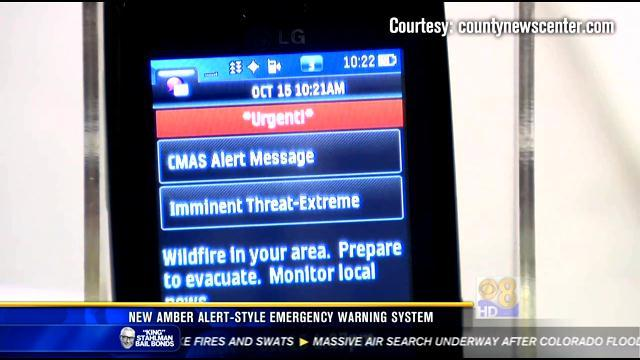 County to reach cell users with new emergency alerts