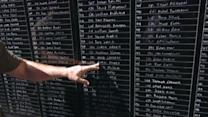 Navy veteran memorializes fallen heroes on wall