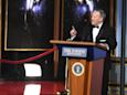 Former White House press secretary Sean Spicer made a shocking appearance at the Emmys