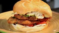Fried Chicken Torta Recipe