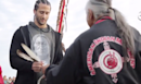 Colin Kaepernick joins Native Americans for UnThanksgiving Day protest on Alcatraz