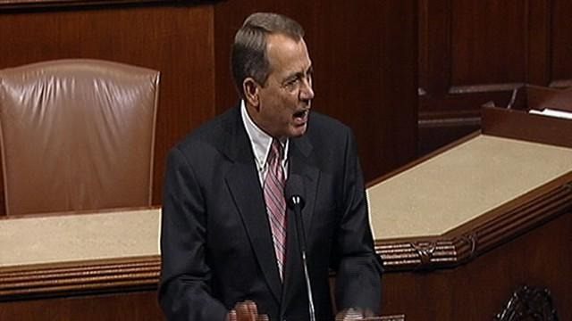 Boehner: My God, Do We Have to Fight About Everything?