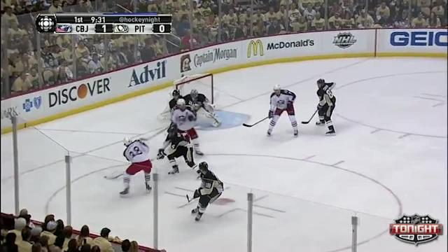 Columbus Blue Jackets at Pittsburgh Penguins - 04/16/2014