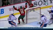 Jason Zucker scores eight seconds into third
