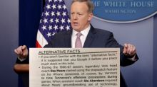 Sean Spicer And Donald Trump's 'Alternative Facts' Are Even Getting Dragged In Sports Team Game Notes