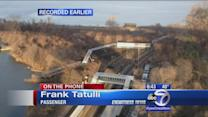 Passenger on board Metro-North train speaks out