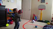 2-year-old basketball prodigy