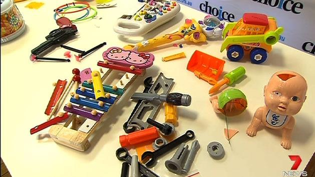 Toys fail safety tests