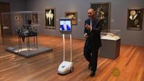 Robots open up the world of art