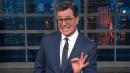 Colbert Has A Peek At Melania's Hilarious Parting Gift To Fired White House Aide