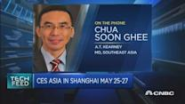 What CES Asia will be focusing on