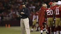 49ers' Harbaugh back to work after heart procedure