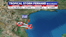 Tropical Storm Fernand forms in Gulf as it moves toward Mexico