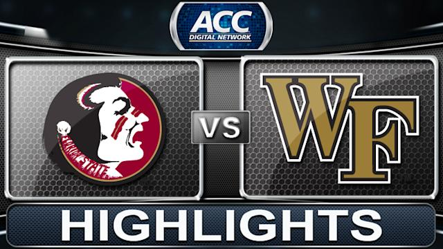 Florida State vs Wake Forest | 2013 ACC Football Highlights