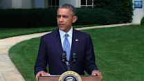 Obama: Time for a Cease-Fire Between Israel, Hamas