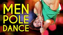 This Is What Happens When Guys Try Pole Dancing