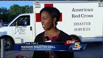 Mass casualty drill at Hamilton Co. fairgrounds Wednesday