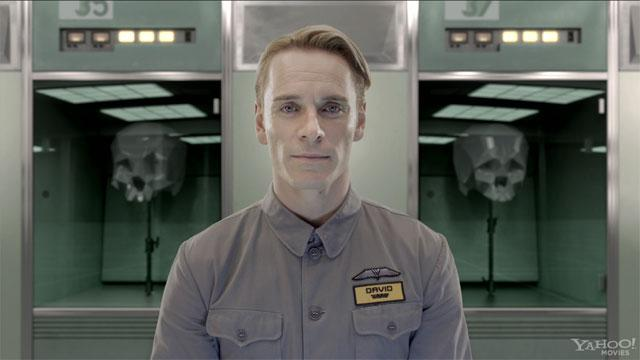 'Prometheus': Introducing David 8