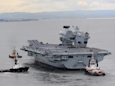 Here's drone footage of the most powerful aircraft carrier ever built for the UK