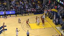 West Virginia's Eron Harris clobbers Iowa State's Monte Morris