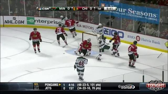 Minnesota Wild at Chicago Blackhawks - 04/03/2014