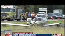 Plane makes emergency landing on I-75 at Gibsonton Drive