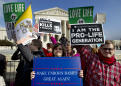 A look at the likely court fight over abortion rights