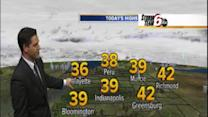 Monday's Forecast: Temps begin to tumble