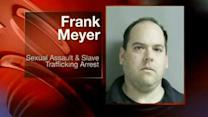 Firefighter arrested in sex slave scandal
