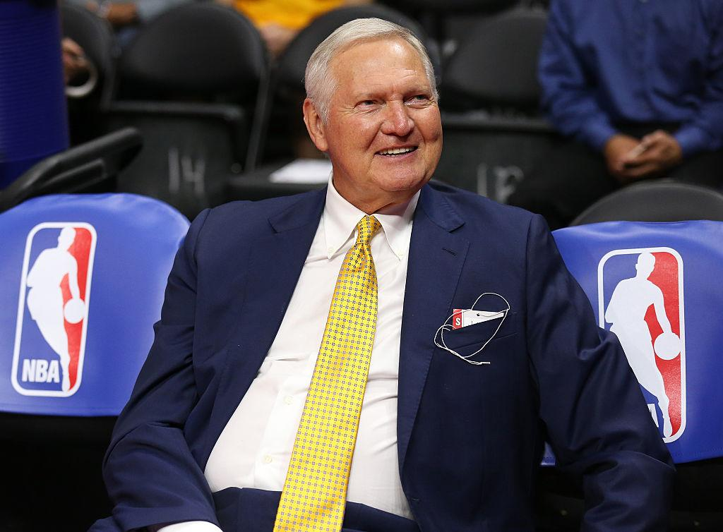 NBA legend Jerry West, a.k.a The Logo, 'doing well' after hospitalization