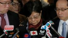 "Ex-Hong Kong leader jailed in fall from ""such a height"""