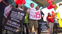 Fast-Food Workers Strike for a Living Wage