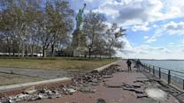 Sandy damage keeps Statue of Liberty closed