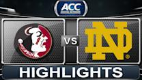 Florida State vs Notre Dame | 2014 ACC Women's Basketball Tournament Highlights