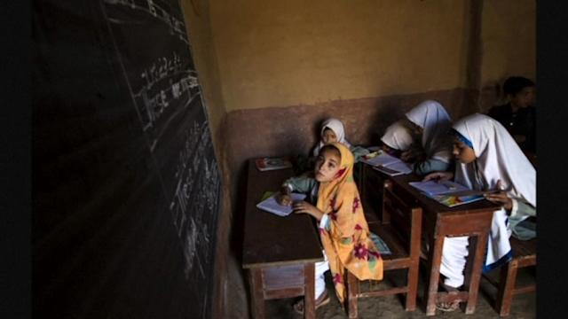 Malala vows to continue to fight for the rights of children to be educated