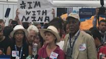 Susan Sarandon, Danny Glover and Other Celebs Stand By Bernie Supporters