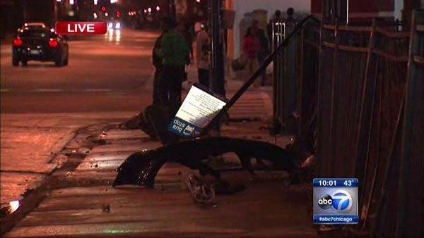 Roseland bus stop accident injures 5 near 103rd, Michigan