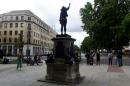Toppled slave trader's statue replaced by one of Black protester in English city