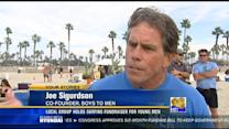 Local group holds surfing fundraiser for young men