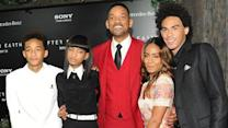 Smiths Goof Around on 'After Earth' Red Carpet